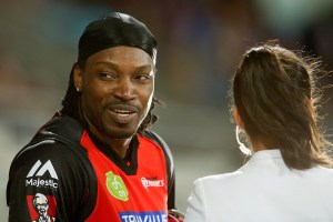Gayle has fined $10,000 and avoid suspension