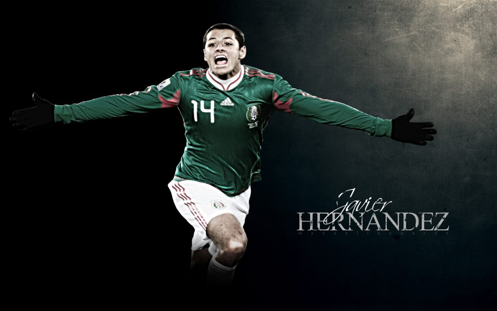 Javier Hernandez - icon of Mexico in Copa America 2016