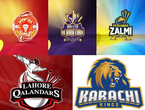 Teams of PSL