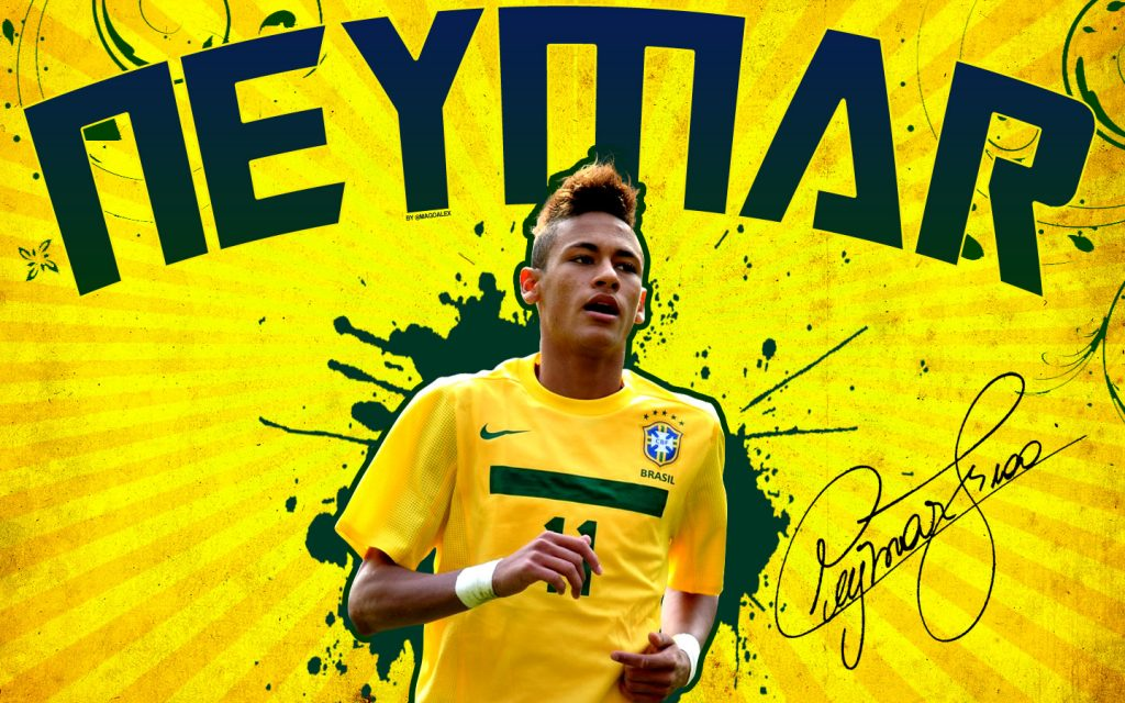 Trump card of Brazil - Neymar Jr. Wallpaper
