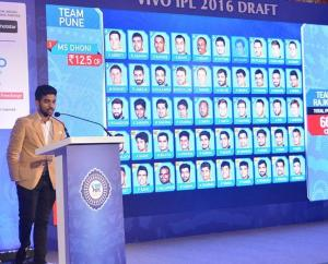 IPL 9 Auction players draft full list & Price (2016)