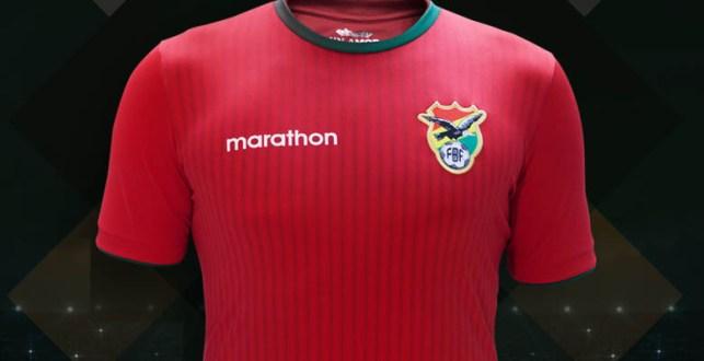 Bolivia Away Kit for Copa America 2016
