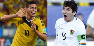 Colombia 3 – 2 Bolivia Goals Highlights [James Rodriguez & Carlos Bacca scored]