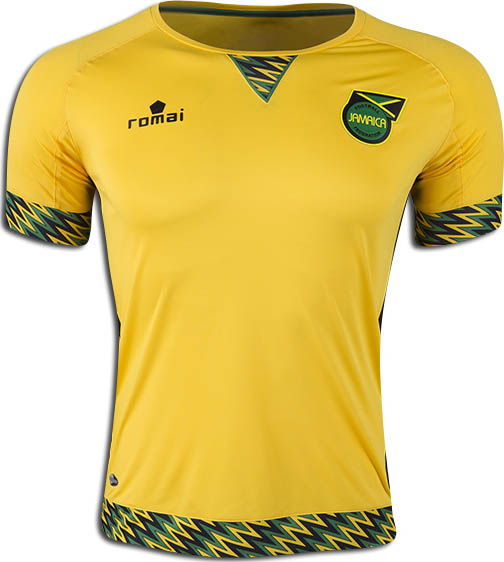 Jamaica Home Kit for Copa America 2016