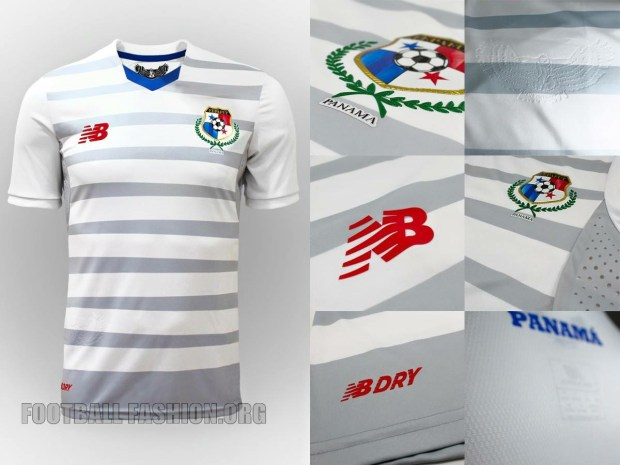 Panama Away Kit for Copa America 2016