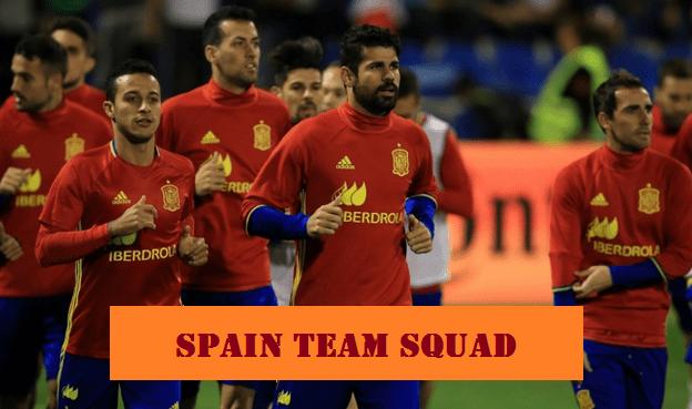 Spain team squad