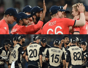 1st Semifinal – England defeated Black caps by 7 wickets and qualified for World T20 Final