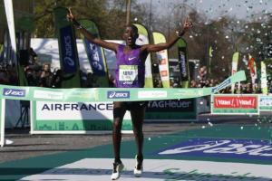 Paris Marathon 2016: Results & Highlights Video [Champion -Cyprian Kotut]