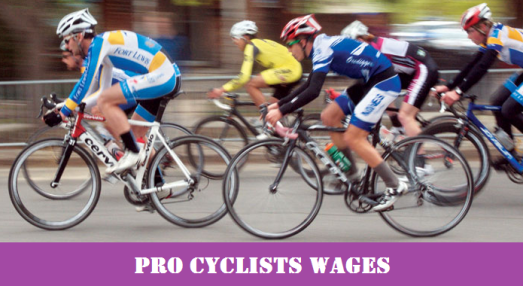 Pro cyclists
