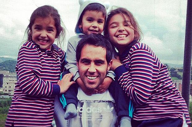 Kids of Claudio Bravo