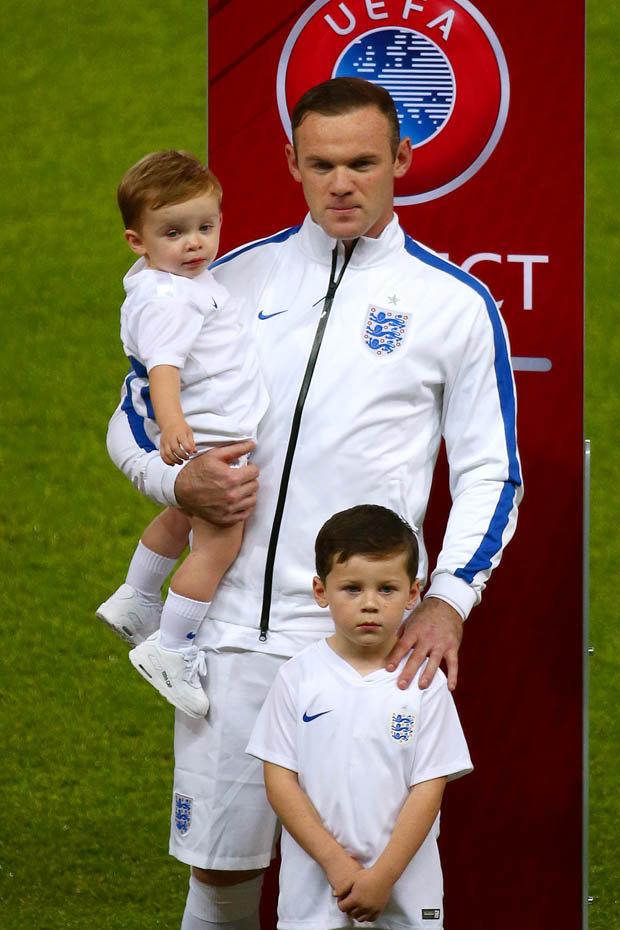 Kids of Wayne Rooney 1