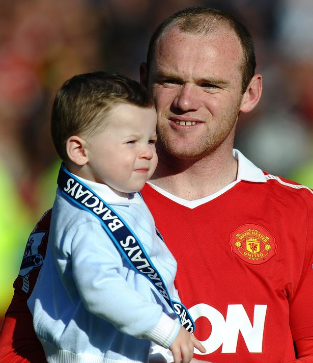 Kids of Wayne Rooney 5