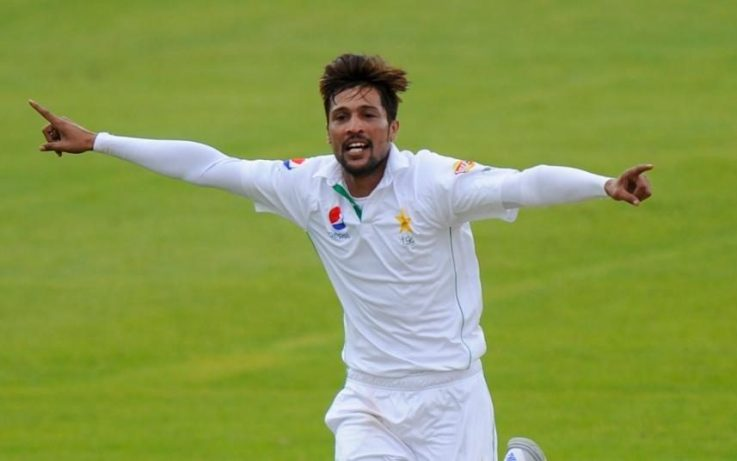 Amir in England test