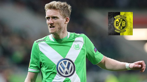 German forward Andre Schurrle is wanted by Borussia Dortmund, claimed by Klaus Allofs