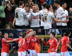 Derby County 0 – 4 Benfica Highlights: Goals Replay