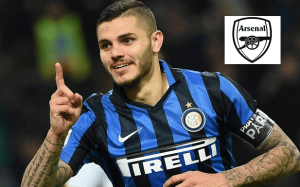 Argentine Inter Milan forward Mauro Icardi wants £40 million to join Arsenal