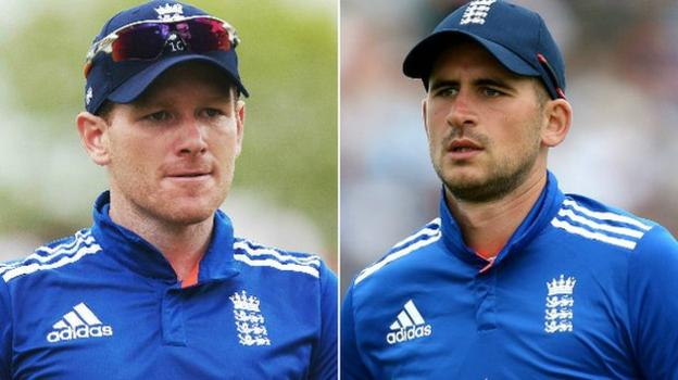 Alex Hales & Eoin Morgan