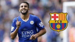 Leicester City star Riyad Mahrez became the Summer target of Barcelona