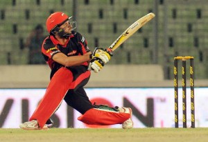 Boom Boom Afridi will play for Rangpur Riders in BPL 4