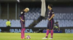 Last defeat against Celta Vigo demoted Barcelona in the fourth place