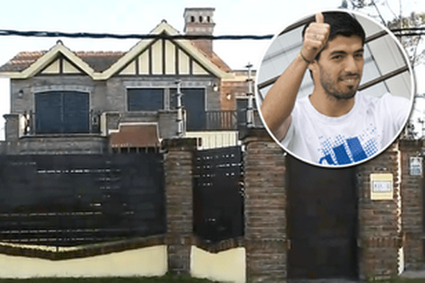 Suarez's house at Uruguay