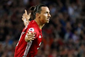 Zlatan Ibrahimovic makes his comeback from injury for Manchester United