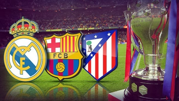Real, Atletico, Barca
