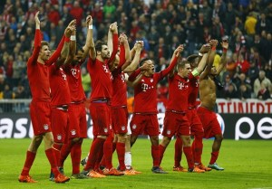 Bayern Munich thrashes Arsenal to seal the spot in the quarter-final