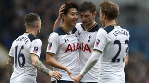 Heung Min Son's Hat-trick sends Tottenham Hotspur to the Wembley