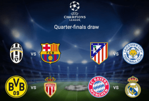 UCL QF draw happens, Real Madrid to face big opponent Bayern Munich