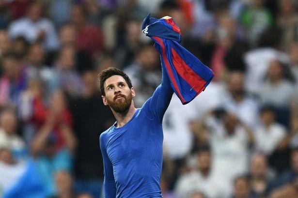 Messi goal in El clasico