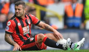 Bournemouth midfielder Wilshere is out for the rest of the week