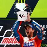 Andrea Dovizioso won two straight MotoGp title for Ducati
