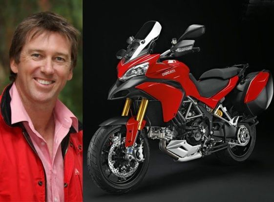 Glenn McGrath Motorcycle