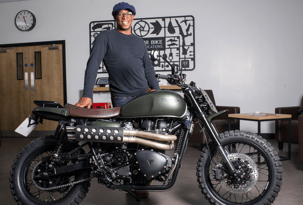 Ian Wright motorcycle