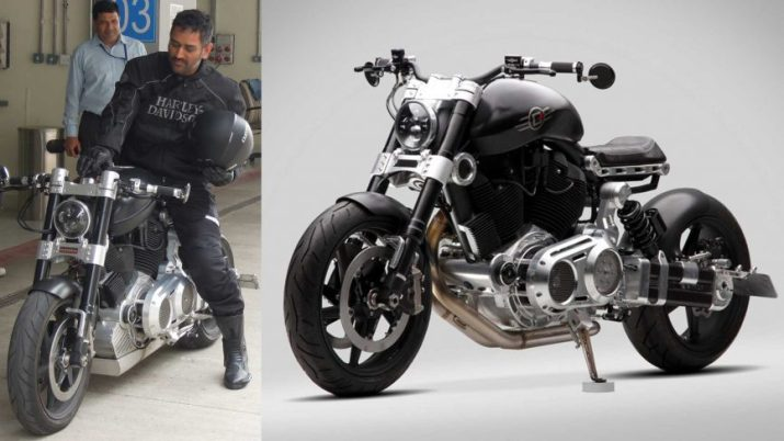 MS Dhoni Motorcycle