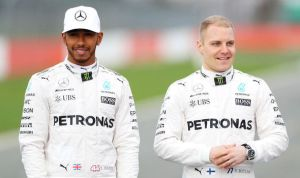 Mercedes boss Toto Wolf thinks the combination of Hamilton and Bottas is getting really interesting