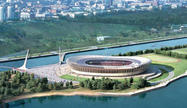 world cup russia stadium