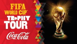 FIFA World Cup 2018 trophy tour began a world wide tour