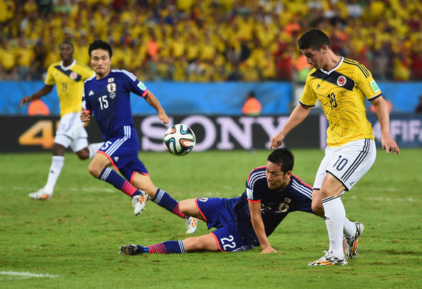 Colombia Vs Japan in World cup