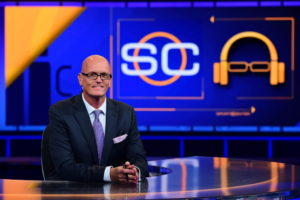 Bristol, CT - September 7, 2015 - Studio X: Scott Van Pelt on the set of SportsCenter (Photo by Joe Faraoni / ESPN Images)