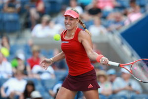 Queens, NY - September 5, 2015 - USTA Billie Jean King National Tennis Center: Angelique Kerber competing in the 135th staging of the US Open (Photo by Allen Kee / ESPN Images)
