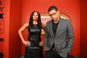 Bristol, CT - January 24, 2017: Michael Smith and Jemele Hill during the SC6 marketing campaign (Photo by Joe Faraoni / ESPN Images)