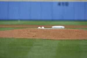 VERO BEACH, FL - MARCH 2, 2007: Pitching mound during spring training at Holman Stadium (Photo by Scott Clarke / ESPN)