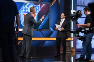 Bristol, CT - October 2, 2016 - Studio W: Adam Schefter on the set of NFL Insiders: Sunday Edition (Photo by Joe Faraoni / ESPN Images)