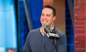 Bristol, CT - October 22, 2014 - Studio E: Mark Teixeira on the set of Mike & Mike (Photo by Rich Arden / ESPN Images)