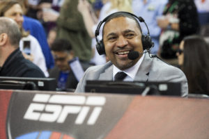 Oakland, CA - December 25, 2015 - Oracle Arena: Mark Jackson prior to the 2015 NBA Christmas Day game (Photo by Peter DaSilva / ESPN Images)