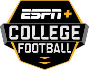 ESPN + College Football Logo