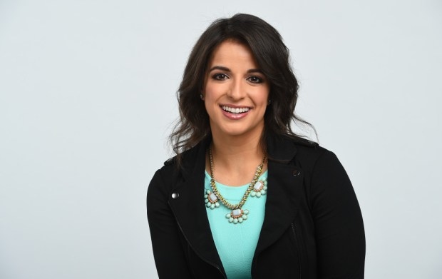 Paralympian gold medalist Victoria Arlen joined ESPN in December 2015 as a features reporter, at age 21 the youngest commentator in ESPN history. (Credit: Joe Faraoni/ ESPN Images)
