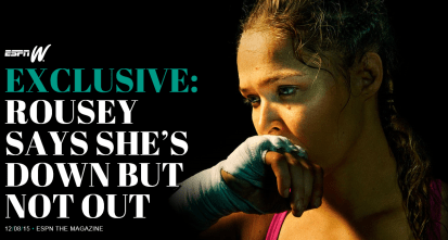 december 10 rousey cover